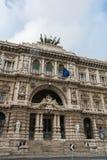 Paleis van Rechtvaardigheid in Rome Stock Fotografie