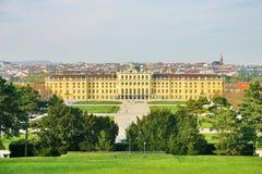 Paleis van Schoenbrunn in Wenen Stock Foto