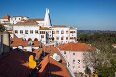 Paleis van Sintra stock fotografie