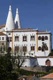 Paleis van Sintra - dichtbij Lissabon - Portugal royalty-vrije stock foto's