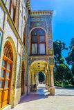 Paleis 13 van Teheran Golestan stock afbeelding