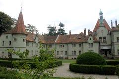 Paleis van telling Schonborn in Chinadievo royalty-vrije stock foto's