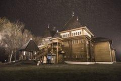 Paleis van Tsaar Alexei Mikhailovich in Kolomenskoye Stock Fotografie