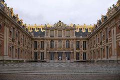 Paleis van Versailles Stock Foto's