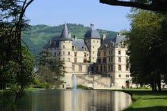 Paleis van Vizille. Frankrijk stock foto's