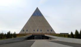 Paleis van Vrede en Verzoening, Astana, Kazachstan stock foto's