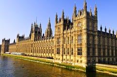 Paleis van Westminster Royalty-vrije Stock Afbeeldingen
