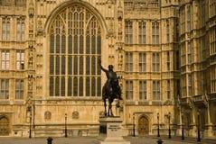 Paleis van Westminster Stock Foto
