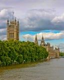 Paleis van Westminster stock afbeeldingen