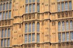 Paleis van Westminster in Londen Engeland het UK Stock Foto