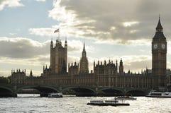 Paleis van Westminster, Londen, het UK - 29 September, 2012 Royalty-vrije Stock Foto's