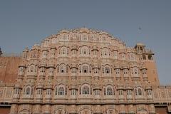 Paleis van winden in Jaipur Stock Afbeelding