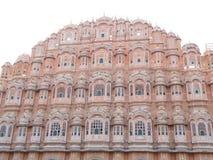 Paleis van Winden, Overweldigende Architectuur van in Jaipur, Rajasthan, India Royalty-vrije Stock Afbeeldingen