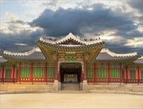 Paleis in Zuid-Korea Stock Afbeelding