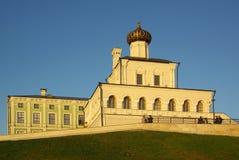 Paleiskerk in Kazan het Kremlin royalty-vrije stock afbeeldingen
