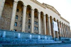 Paleizen in de straten van Tbilisi Royalty-vrije Stock Fotografie