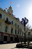 Paleizen in de straten van Tbilisi Stock Foto