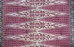 palembang songket Fotografering för Bildbyråer