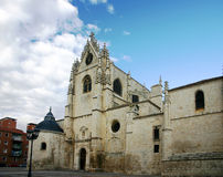 Palencia Cathedral 3. Cathedral of San Antol in, Palencia stock photography