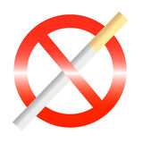palenie zabronione Fotografia Royalty Free