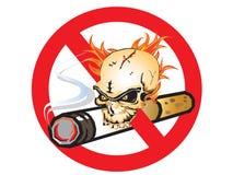 Palenie zabronione Obraz Stock