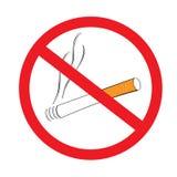 palenie zabronione Zdjęcie Stock