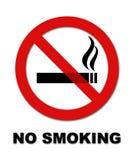 Palenie zabronione znak 2 Obrazy Stock