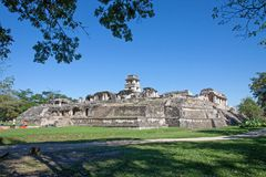 Palenque, Μεξικό στοκ φωτογραφία