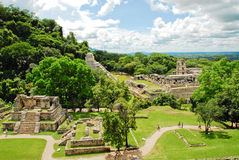 Palenque, σταυροί ομάδας στοκ εικόνα με δικαίωμα ελεύθερης χρήσης