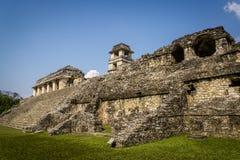 Palenque, город Майя в южной Мексике, Чьяпасе, Мексике стоковые фото