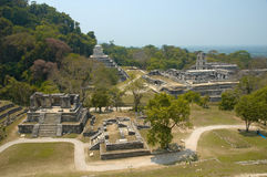 Palenque. Archeological site, Chiapas, Mexico Stock Photos