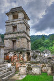 Palenque Ancient Maya Ruins, Mexico Stock Photos