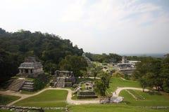 Palenque antico Fotografia Stock