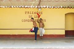 Palenque de los Congos Reales Stock Photos