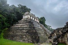 Palenque Majskie ruiny w Chiapas Meksyk zdjęcia stock