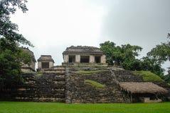 Palenque Majskie ruiny w Chiapas Meksyk zdjęcie royalty free