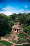 Palenque, Maya city in Chiapas, Mexico royalty free stock photography
