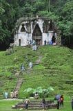 Palenque Maya fördärvar Arkivbild