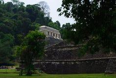 Palenque Mayan archeological lokal Arkivfoton