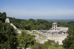 Palenque - mexico Royalty Free Stock Photos