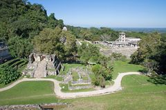 Palenque, Mexico stock photography