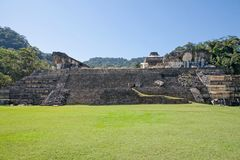 Palenque, Mexico stock photo