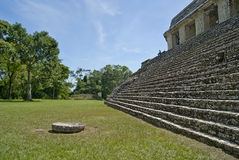 Palenque Mexique de visite Photographie stock libre de droits