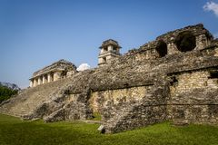 Palenque, Maya city in southern Mexico, Chiapas, Mexico stock photos