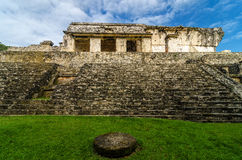 Palenque Palace Stairs Stock Images