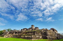 Palenque Palace View Royalty Free Stock Photography