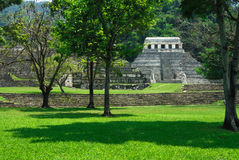 Palenque Ruins Stock Photo