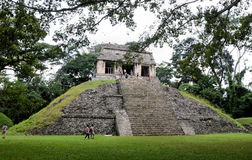 Palenque ruins Royalty Free Stock Photography