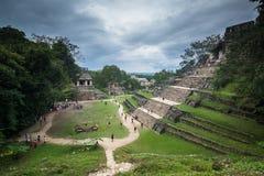 Palenque ruins stock photos