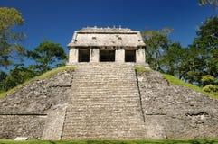 Palenquemaya ruïnes in Mexico royalty-vrije stock foto's